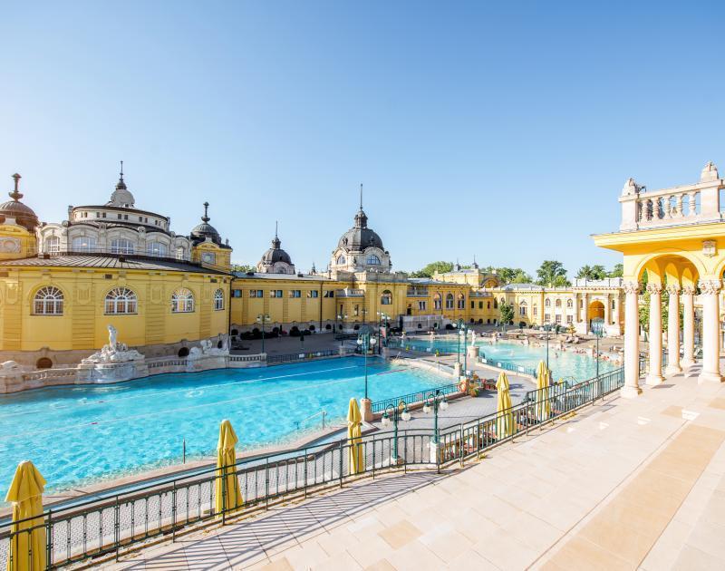 The Szechenyi Baths Budapest
