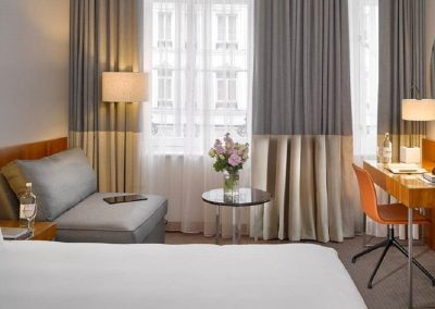 K+K Hotel George Kensington London Executive King Zimmer