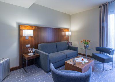 K+K Hotel Picasso Barcelona El Born Suite Wohnbereich