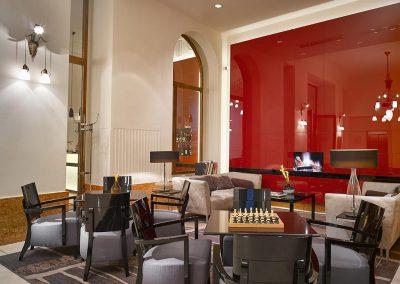 K+K Hotel Central Prag Lounge