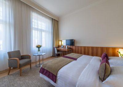 K+K Hotel Central Prag Zimmer