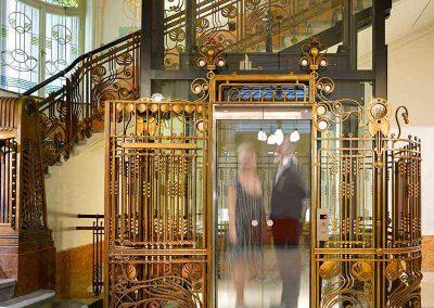 K+K Hotel Central Prague Elevator