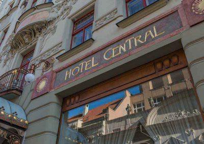 K+K Hotel Central Prague Facade