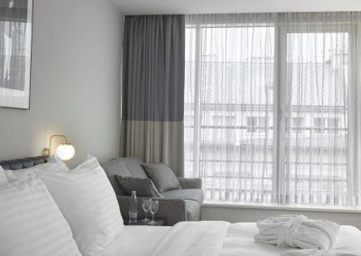 K+K Hotel Fenix, Prague Executive Room Corner View