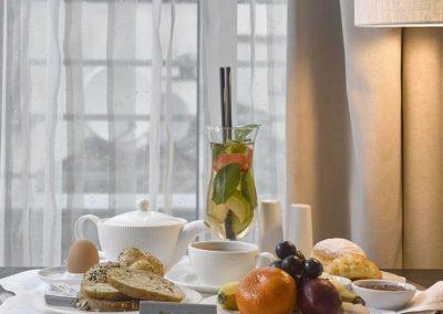 K+K Hotel Fenix, Prague Executive Room View Window and amenity