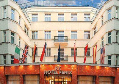 K+K Hotel Fenix Prague Facade