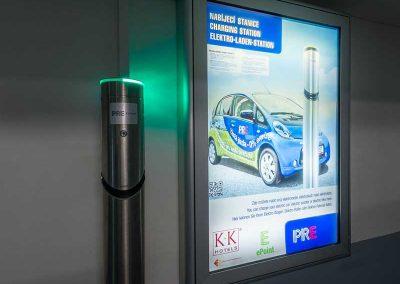 K+K Hotel Fenix Prague Garage Electro Charging Station