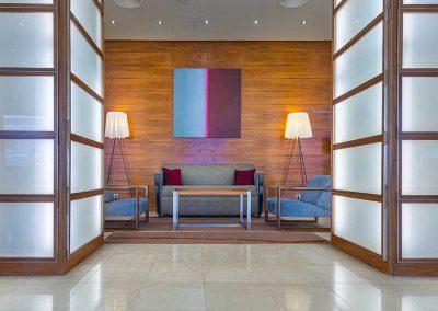 K+K Hotel Fenix Prague Lobby Seating Area