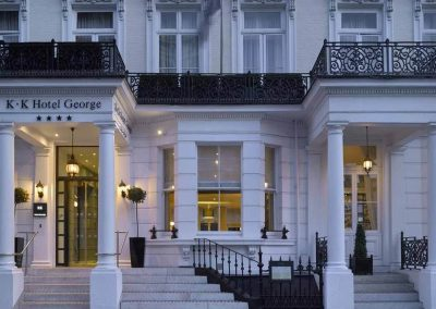 K+K Hotel George Kensington London Aussenansicht