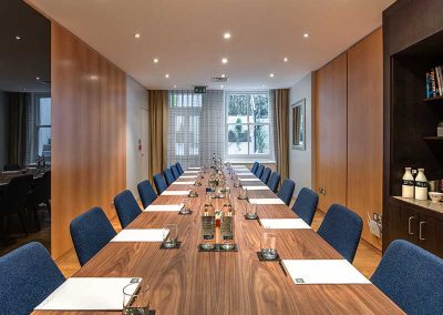 K+K Hotel George Kensington, London Boardroom Conference Table