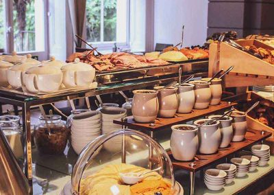 K+K Hotel George Kensington, London Breakfast Buffet Details