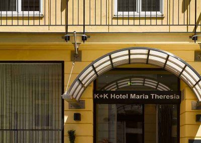 K+K Hotel Maria Theresia Vienna Entrance