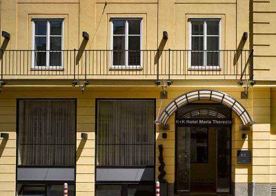 K+K Hotel Maria Theresia Vienna Facade Entrance