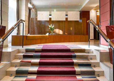 K+K Hotel Maria Theresia Vienna Lobby with stairs