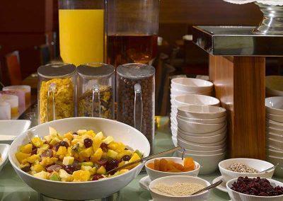 K+K Hotel Opera Budapest Breakfast Buffet Details