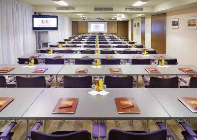 K+K Hotel Opera Budapest Conference Room Classroom Seating