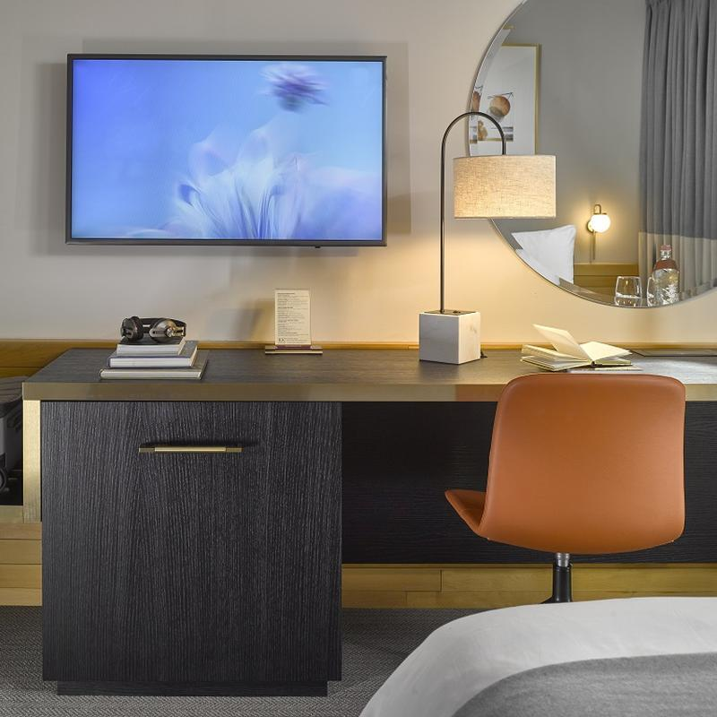 K+K Hotel Opera, Budapest Deluxe Room, Desk and TV