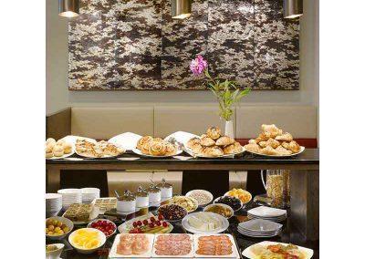 K+K Hotel Picasso Barcelona Breakfast Buffet