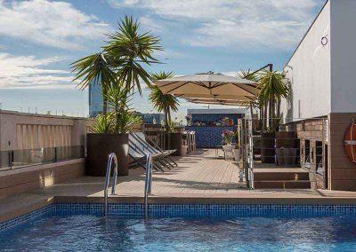 K+K Hotel Picasso Barcelona Terrace Pool