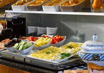 K+K Hotel am Harras Munich Breakfast Buffet 2