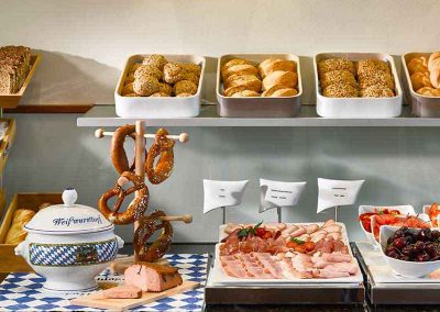 K+K Hotel am Harras Munich Breakfast Buffet