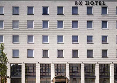 K+K Hotel am Harras Munich Facade