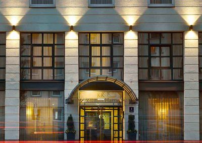 K+K Hotel am Harras Munich Facade Night