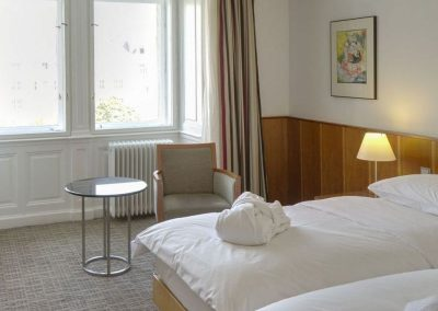 K+K Palais Hotel, Vienna Classic Double Room view with Additional Bed