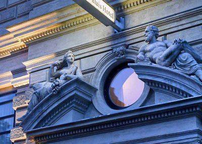 K+K Palais Hotel Vienna Facade Detail