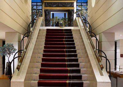 K+K Palais Hotel Vienna Lobby Staircase