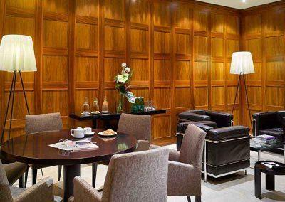 K+K Palais Hotel Vienna Lobby seating area