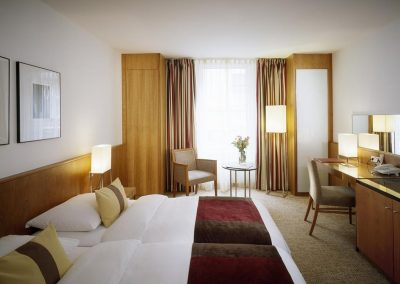 K+K Hotel Opera Budapest Klassik Doppelzimmer Twin Betten