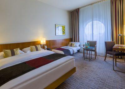 K + K Hotel Maria Theresia Wien Klassik Dreibett Zimmer