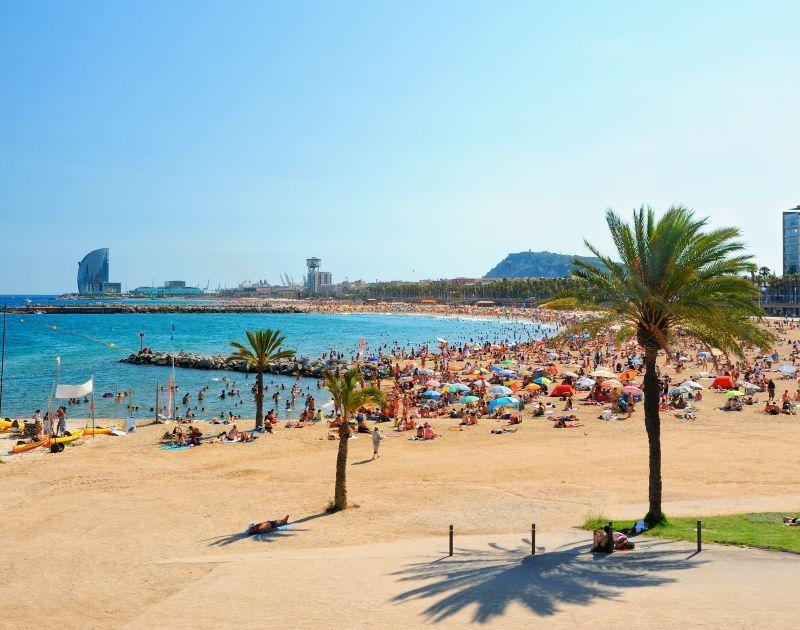 Beach and sea - Barcelona