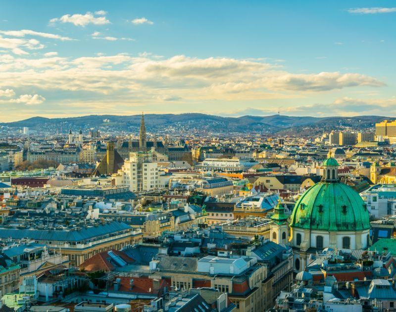 Skyline of Vienna