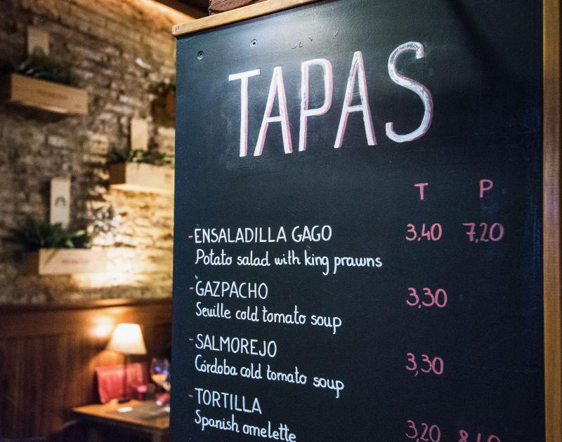 Barcelona Tapas - Restaurant Tips